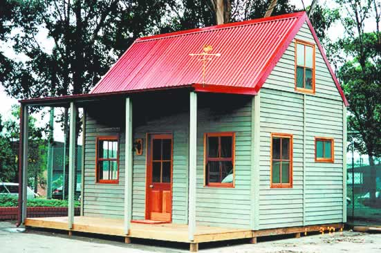 The miners cottage cedarspan for Country cottage homes designs australia