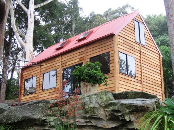 The Traditional Garage Cedar Loft Barns