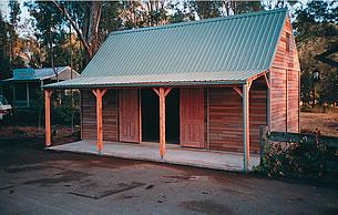 The Prospectors Barn (2H50 Loft Barn) - Click To Enlarge