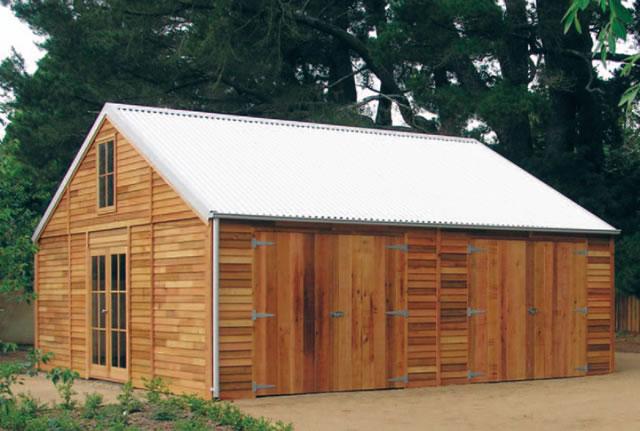 The coach house cedar loft barns cedarspan for Barn homes australia