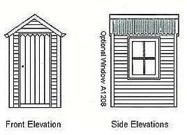 Outhouse Floor Plans http://www.cedarspancabins.com.au/products/classic-cabins/the-country-outhouse
