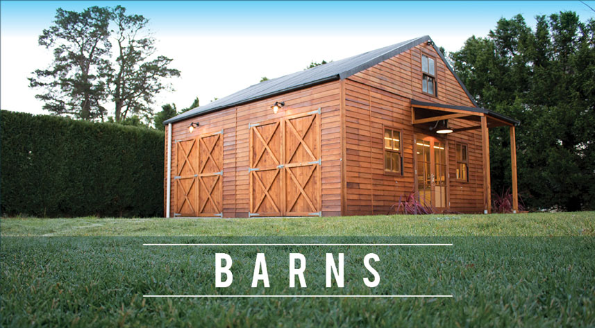 Prefab timber cabin kits cottages and barns cedarspan American barn style kit homes