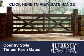 Country Style Timber Farm Gates