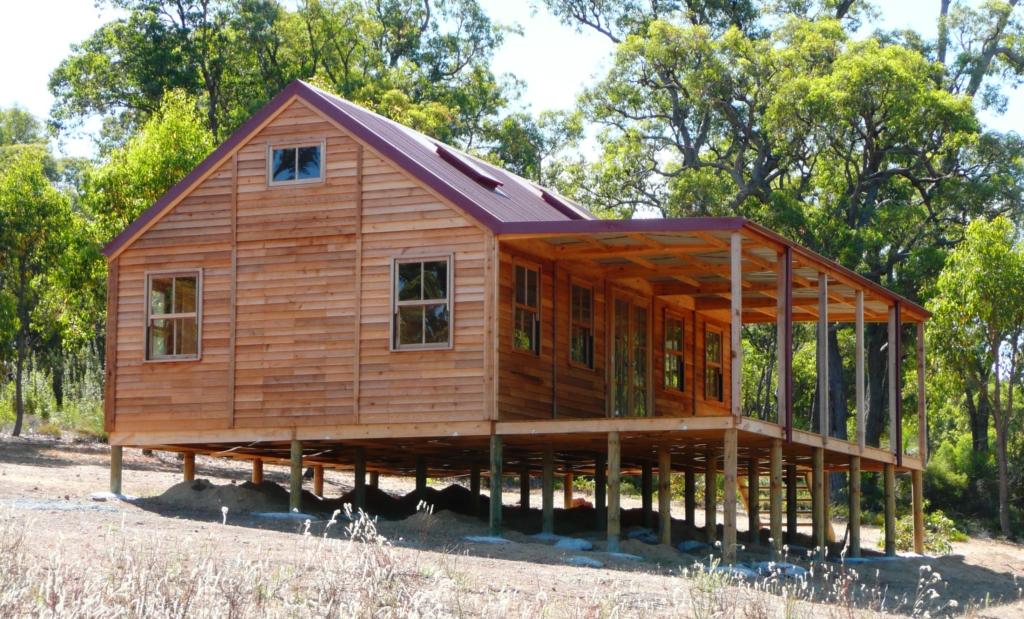 Cedarspan Cabin Raised Timber Floor System